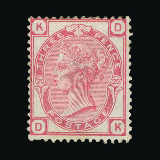 Lot 18278 - Great Britain - QV (surface printed) 1873-80 -  UPA UPA Sale #80 worldwide Collections