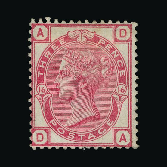 Lot 18279 - Great Britain - QV (surface printed) 1873-80 -  UPA UPA Sale #80 worldwide Collections