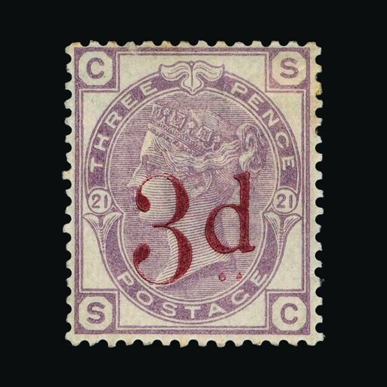Lot 18381 - Great Britain - QV (surface printed) 1888-83 -  UPA UPA Sale #80 worldwide Collections