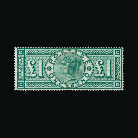 Lot 18383 - Great Britain - QV (surface printed) 1891 -  UPA UPA Sale #80 worldwide Collections
