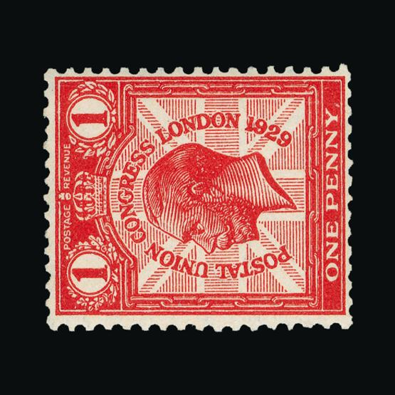 Lot 18455 - Great Britain - KGV 1929 -  UPA UPA Sale #80 worldwide Collections