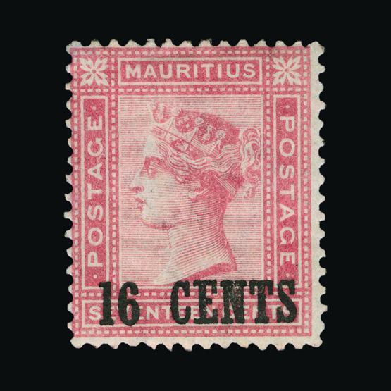 Lot 18651 - Mauritius 1883 -  UPA UPA Sale #80 worldwide Collections