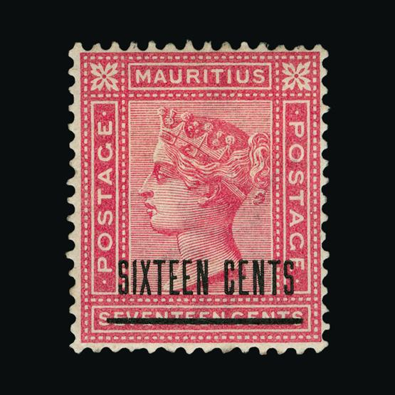 Lot 18652 - Mauritius 1883 -  UPA UPA Sale #80 worldwide Collections