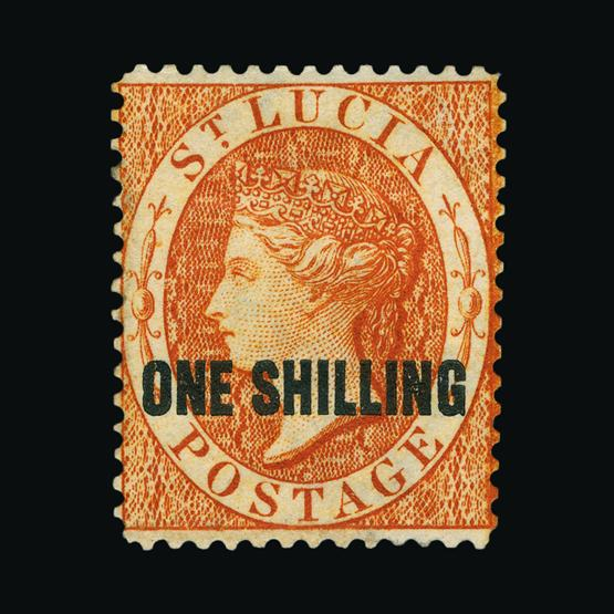 Lot 18896 - st. lucia 1882-4 -  UPA UPA Sale #80 worldwide Collections