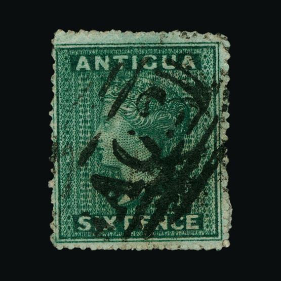 Lot 292 - antigua 1862 -  UPA UPA Sale #80 worldwide Collections