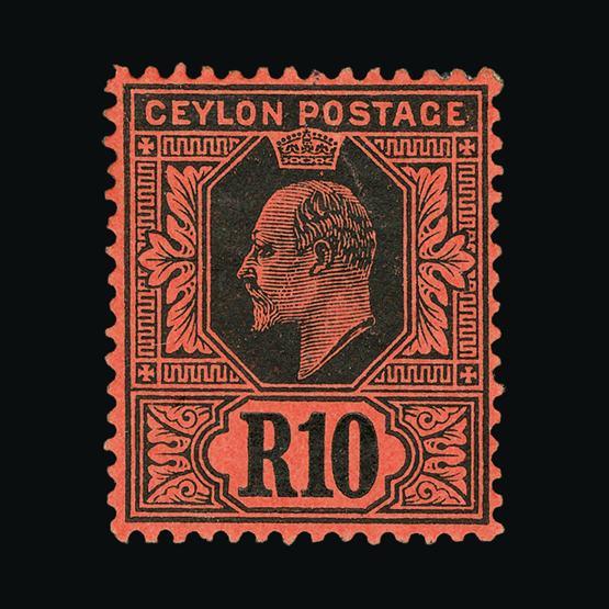 Lot 3056 - Ceylon 1910-11 -  UPA UPA Sale #80 worldwide Collections