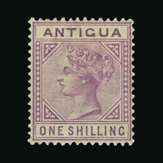 Lot 310 - antigua 1884-7 -  UPA UPA Sale #80 worldwide Collections