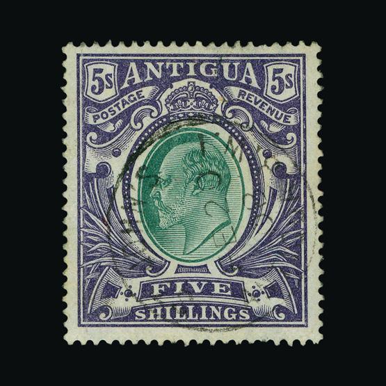 Lot 314 - antigua 1903-07 -  UPA UPA Sale #80 worldwide Collections