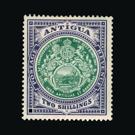 Lot 324 - antigua 1908-17 -  UPA UPA Sale #80 worldwide Collections