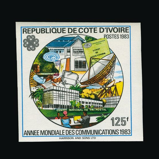 Lot 5108 - France - Colonies - Ivory Coast 1983 -  UPA UPA Sale #80 worldwide Collections