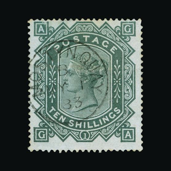 Lot 6982 - Great Britain - QV (surface printed) 1867-83 -  UPA UPA Sale #80 worldwide Collections