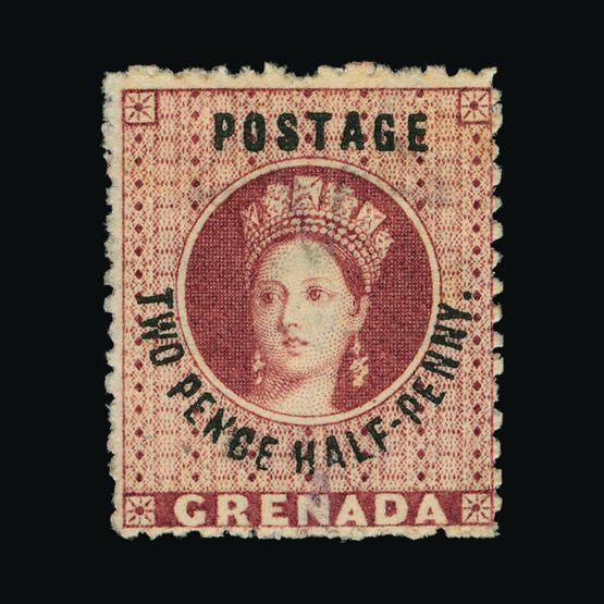 Lot 10350 - Grenada 1881 -  UPA UPA Sale #81 worldwide Collections