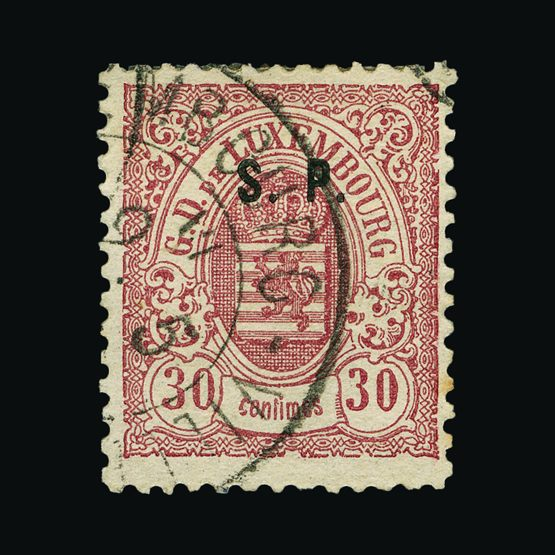 Lot 13429 - Luxembourg 1881 -  UPA UPA Sale #81 worldwide Collections