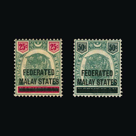 Lot 13577 - Malaya - Federated Malay States 1900 -  UPA UPA Sale #81 worldwide Collections