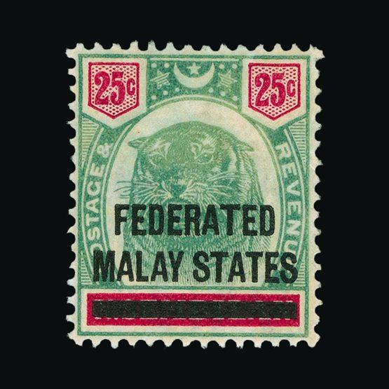 Lot 13583 - Malaya - Federated Malay States 1900 -  UPA UPA Sale #81 worldwide Collections