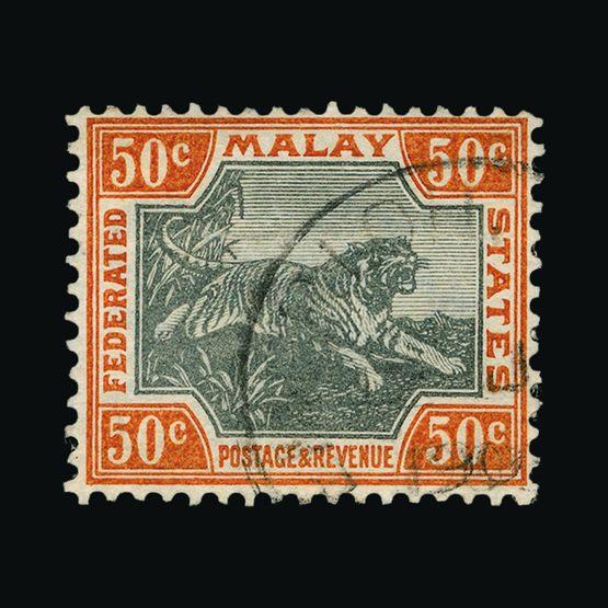 Lot 13596 - Malaya - Federated Malay States 1900-01 -  UPA UPA Sale #81 worldwide Collections