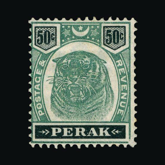 Lot 13810 - malaya - perak 1895-9 -  UPA UPA Sale #81 worldwide Collections