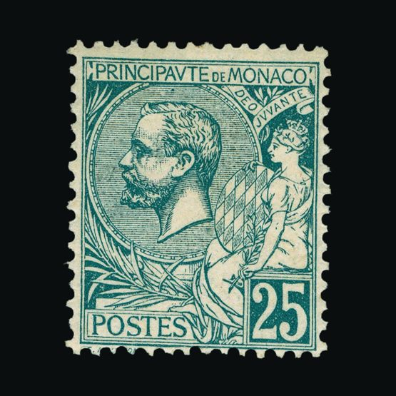 Lot 14575 - Monaco 1891-94 -  UPA UPA Sale #81 worldwide Collections