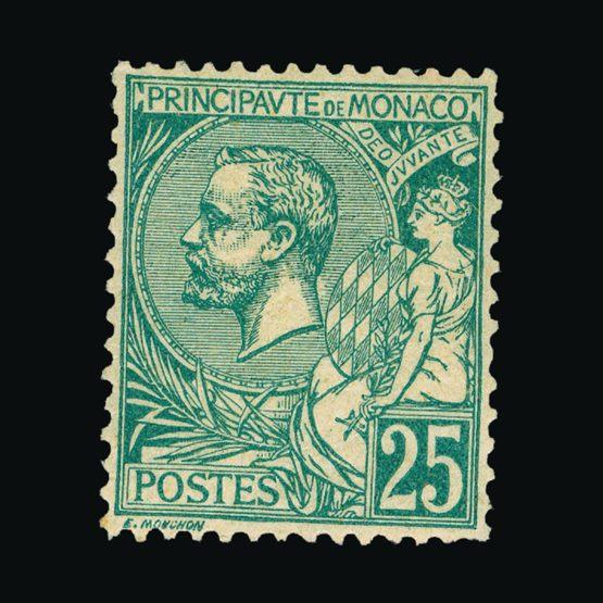Lot 14593 - Monaco 1891-94 -  UPA UPA Sale #81 worldwide Collections