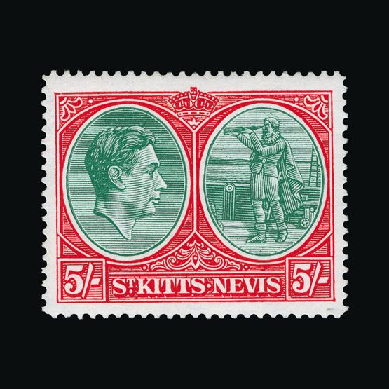 Lot 18604 - st. kitts and nevis 1938-50 -  UPA UPA Sale #81 worldwide Collections