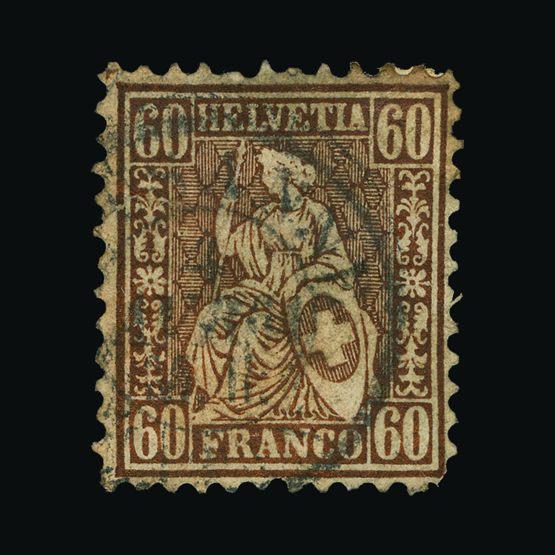 Lot 19098 - Switzerland 1862-64 -  UPA UPA Sale #81 worldwide Collections