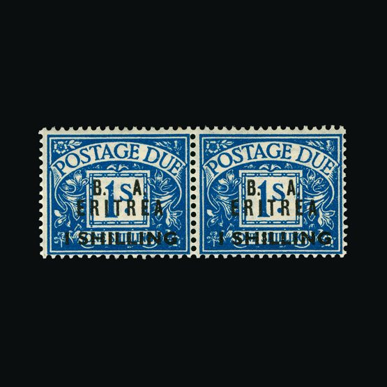 Lot 2554 - british occupation of italian colonies 1950 -  UPA UPA Sale #81 worldwide Collections