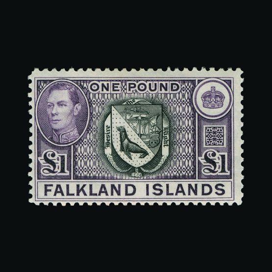 Lot 5208 - falkland islands 1938-50 -  UPA UPA Sale #81 worldwide Collections