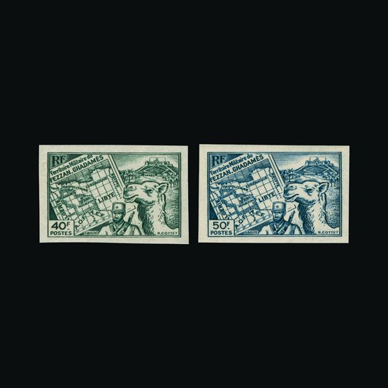 Lot 6193 - France - Colonies - Fezzan 1946 -  UPA UPA Sale #81 worldwide Collections