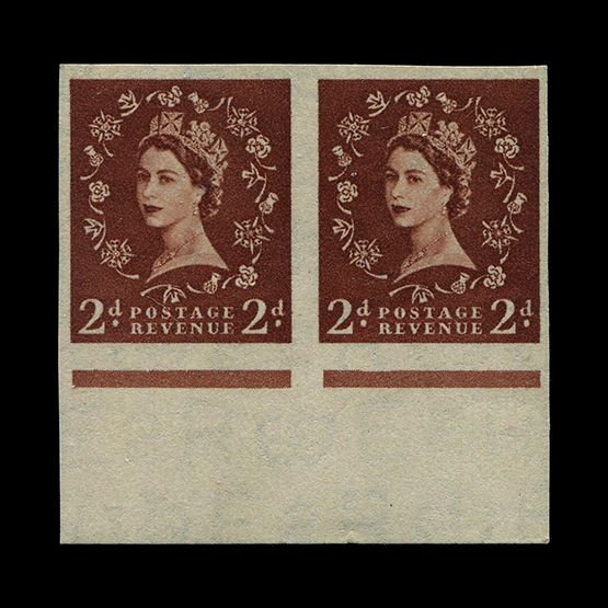 Lot 9415 - Great Britain - QEII (pre-decimal) 1955-58 -  UPA UPA Sale #81 worldwide Collections