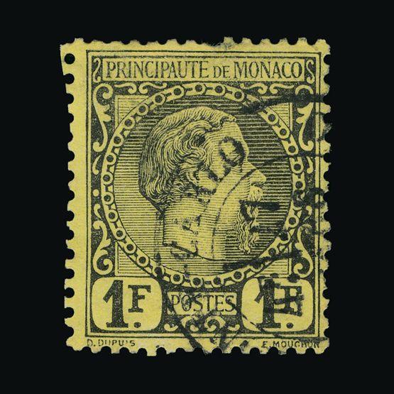 Lot 14433 - Monaco 1885 -  UPA UPA Sale #82 worldwide Collections