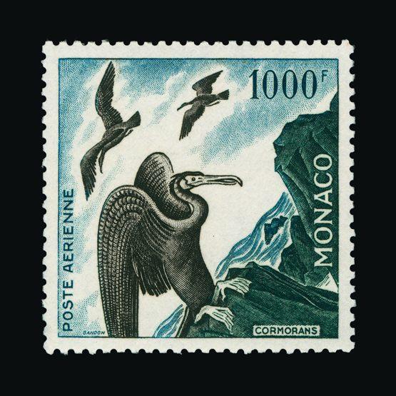 Lot 14556 - Monaco 1955 -  UPA UPA Sale #82 worldwide Collections