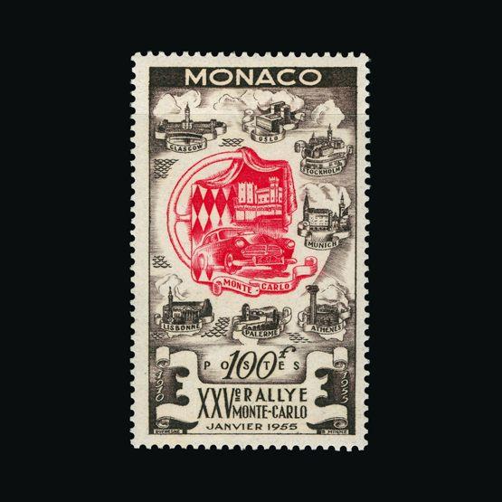 Lot 14561 - Monaco 1955 -  UPA UPA Sale #82 worldwide Collections