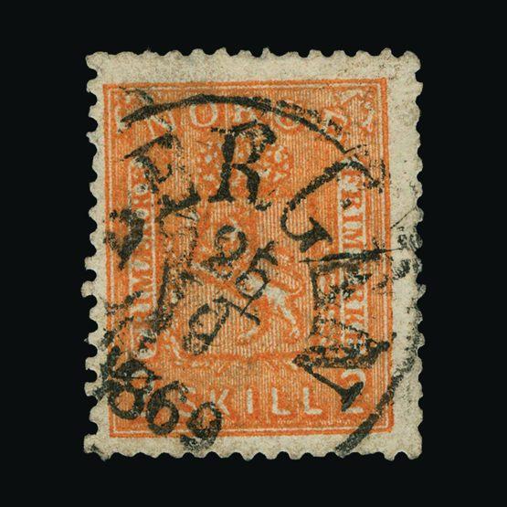 Lot 16035 - Norway 1867-68 -  UPA UPA Sale #82 worldwide Collections