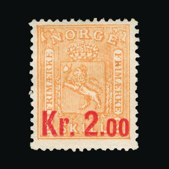 Lot 16055 - Norway 1905 -  UPA UPA Sale #82 worldwide Collections