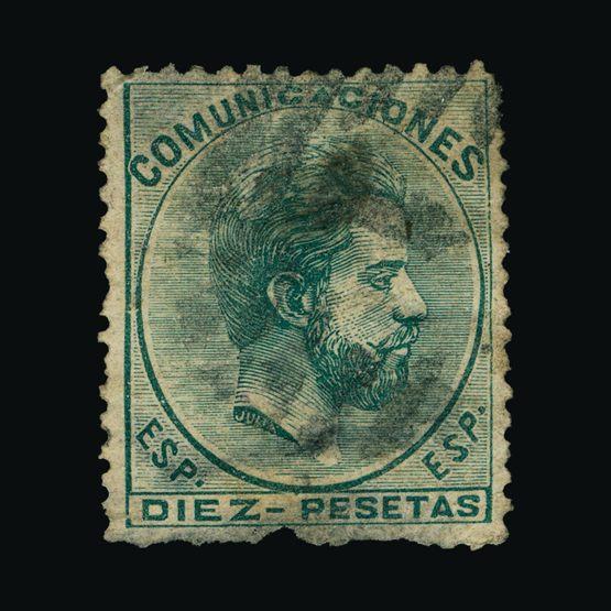 Lot 18387 - Spain 1872-73 -  UPA UPA Sale #82 worldwide Collections