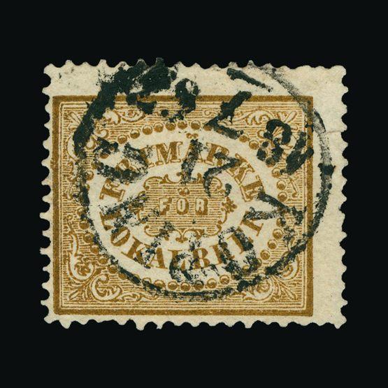 Lot 19373 - Sweden 1862 -  UPA UPA Sale #82 worldwide Collections