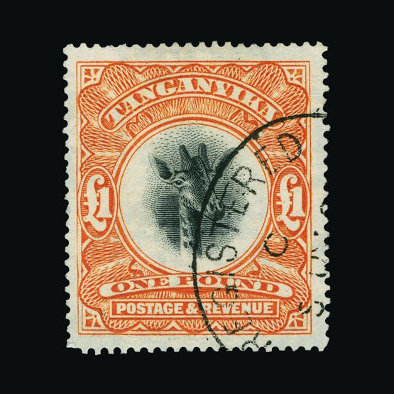 Lot 19733 - tanganyika 1922-24 -  UPA UPA Sale #82 worldwide Collections