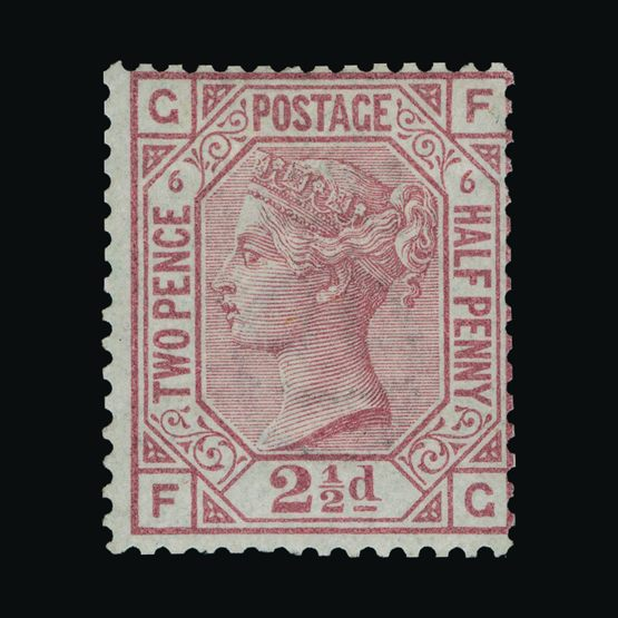 Lot 20997 - Great Britain - QV (surface printed) 1873-80 -  UPA UPA Sale #82 worldwide Collections