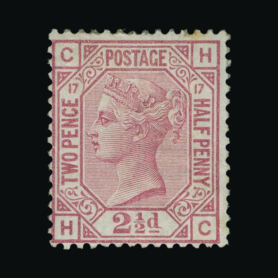 Lot 21007 - Great Britain - QV (surface printed) 1873-80 -  UPA UPA Sale #82 worldwide Collections