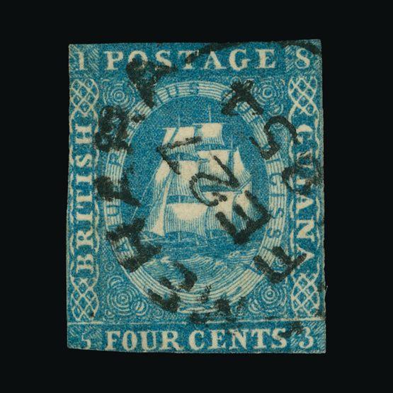 Lot 2718 - british guiana 1853-55 -  UPA UPA Sale #82 worldwide Collections