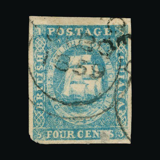 Lot 2719 - british guiana 1853-55 -  UPA UPA Sale #82 worldwide Collections