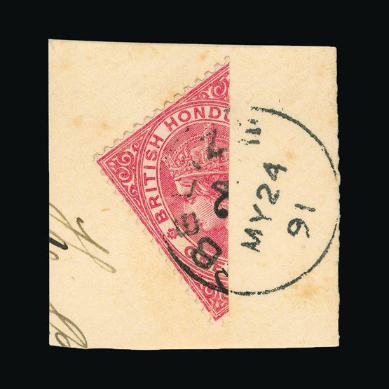 Lot 2909 - british honduras 1888-91 -  UPA UPA Sale #82 worldwide Collections