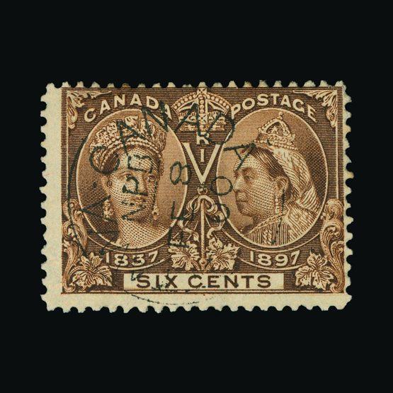 Lot 3589 - Canada 1897 -  UPA UPA Sale #82 worldwide Collections