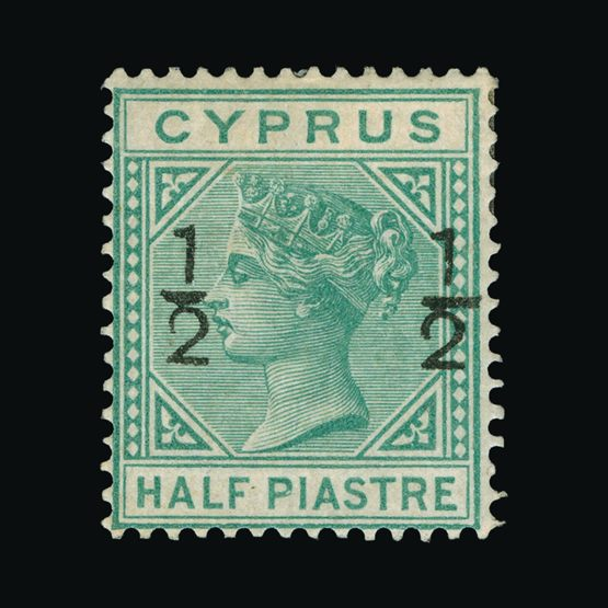 Lot 4963 - Cyprus 1882 -  UPA UPA Sale #82 worldwide Collections