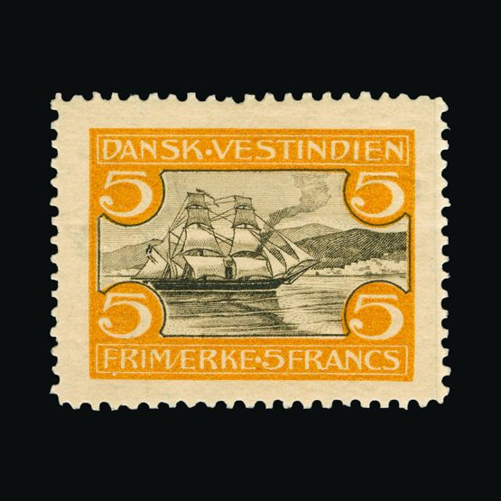 Lot 5197 - danish west indies 1905 -  UPA UPA Sale #82 worldwide Collections