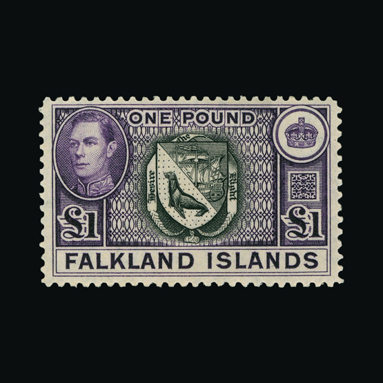 Lot 5806 - falkland islands 1938-50 -  UPA UPA Sale #82 worldwide Collections