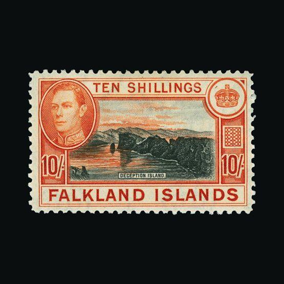 Lot 5822 - falkland islands 1938-50 -  UPA UPA Sale #82 worldwide Collections