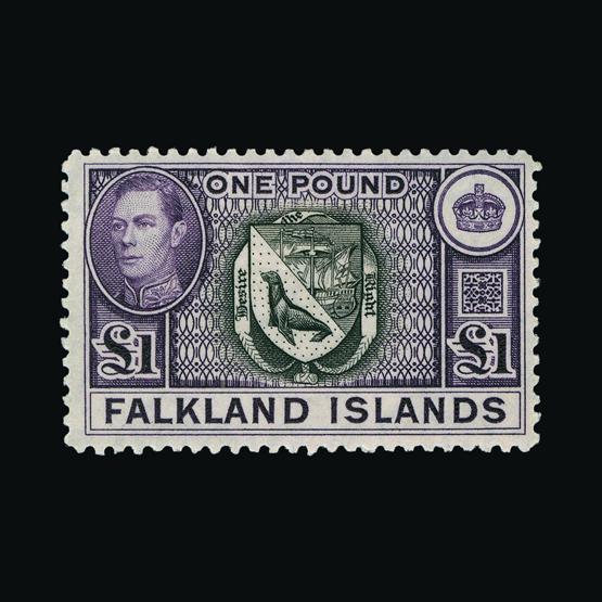 Lot 5823 - falkland islands 1938-50 -  UPA UPA Sale #82 worldwide Collections