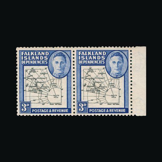 Lot 5877 - Falkland Islands - Dependencies 1946 -  UPA UPA Sale #82 worldwide Collections