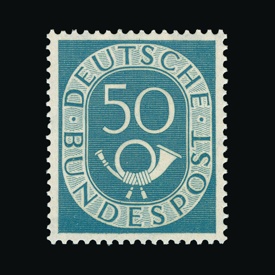 Lot 7480 - Germany - German Federal Republic - West Germany 1951 -  UPA UPA Sale #82 worldwide Collections
